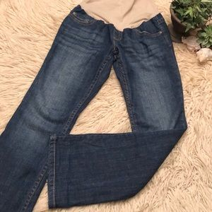 Motherhood Maternity Jeans-Boot Cut-Sz med